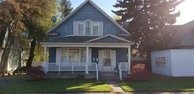 Spokane Single Family Home For Sale: 1012 E Indiana Ave