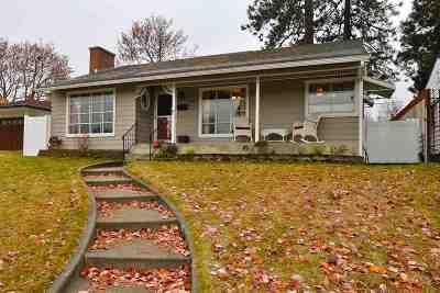 Spokane Single Family Home For Sale: 2423 W Providence Ave
