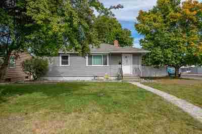 Spokane Single Family Home New: 3427 E Jackson Ave