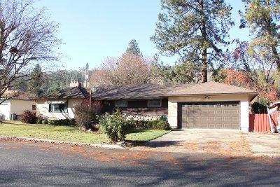 Spokane Single Family Home For Sale: 8111 N Hughes Dr