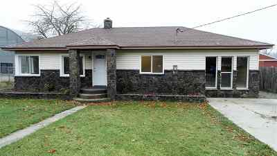 Spokane Valley WA Single Family Home New: $195,000