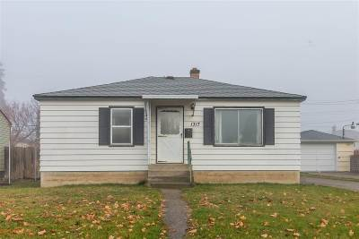 Spokane WA Single Family Home New: $125,000
