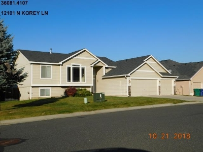 Spokane Single Family Home Ctg-Inspection: 12101 N Korey Ln