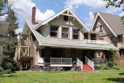 Spokane Single Family Home For Sale: 1724 W 9th Ave