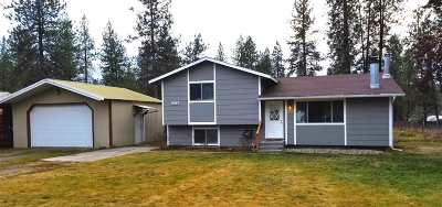 Nine Mile Falls WA Single Family Home Ctg-Inspection: $259,900
