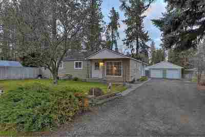 Spokane Valley WA Single Family Home Ctg-Inspection: $182,900