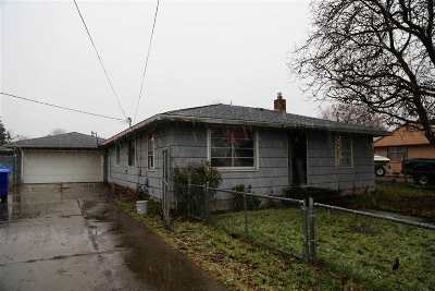 Spokane Valley WA Single Family Home Ctg-Inspection: $198,000