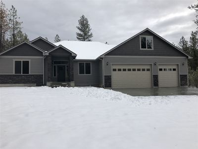 spokane Single Family Home New: 8011 S Carnation Rd
