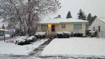 Spokane WA Single Family Home Active/No Show: $190,000
