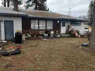 Spokane Valley Single Family Home Ctg-Short Sale: 12221 E 19th Ave