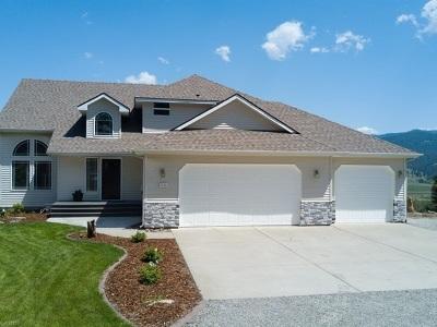 Single Family Home For Sale: 4110 S Saltese Lake Rd