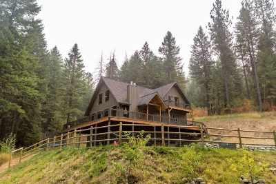 Kootenai County, Spokane County Single Family Home For Sale: 18610 E Belmont Rd