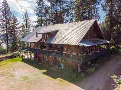 Spokane Single Family Home For Sale: 12930 N West Newman Lake Rd