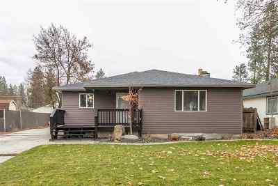 Spokane Single Family Home For Sale: 4120 W Olympic Ave
