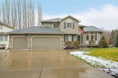 Spokane Valley Single Family Home For Sale: 3615 S Sunderland Dr