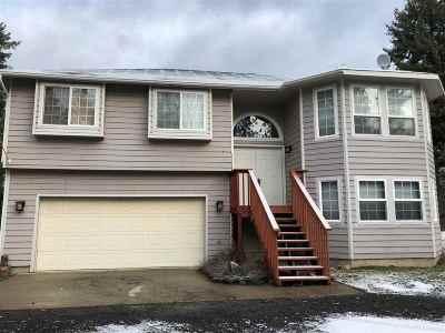 Colbert Single Family Home For Sale: 11811 E Vista Dr