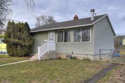 Spokane Single Family Home Ctg-Inspection: 3911 E Cleveland Ave