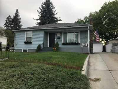 Spokane WA Single Family Home Sold: $230,000