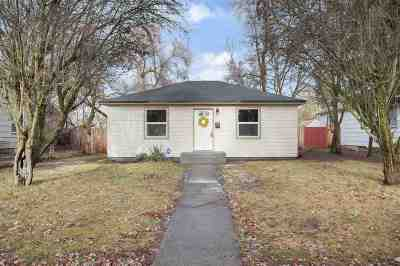 Spokane Single Family Home New: 1120 W Central Ave