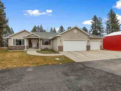 Spokane Single Family Home For Sale: 12111 S Hatch Rd