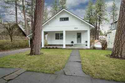 Spokane Single Family Home Ctg-Inspection: 624 W 17th Ave