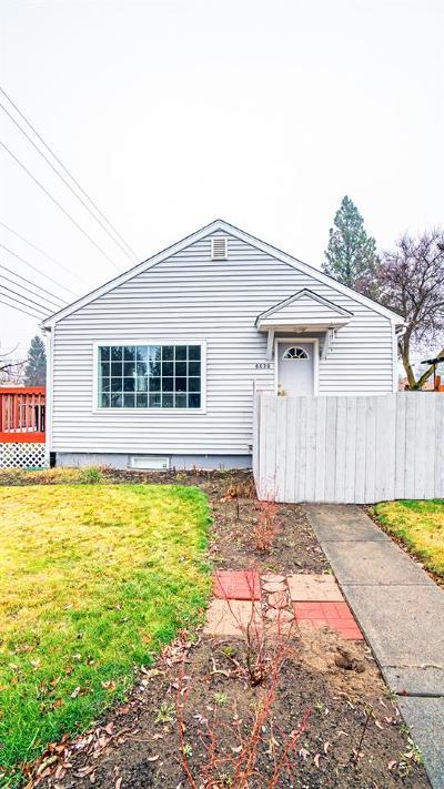 spokane Single Family Home New: 6020 N Monroe St