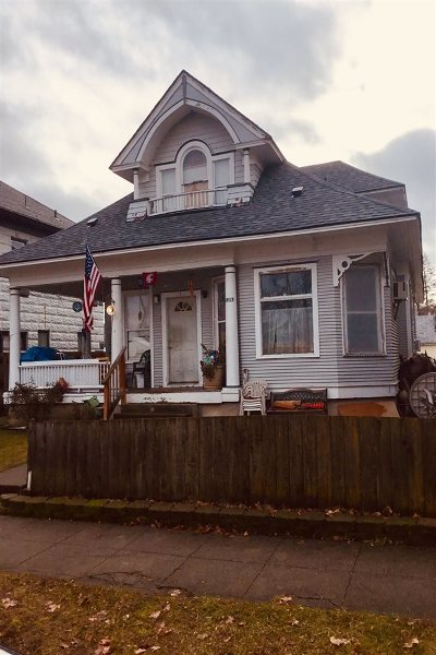 Spokane Single Family Home New: 1917 W Mallon Ave #1-4