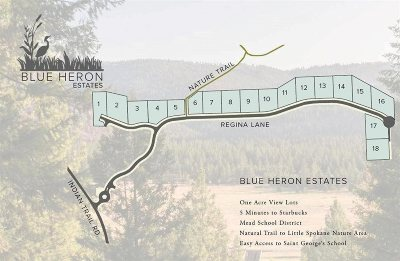 spokane Residential Lots & Land New: 5724 W Regina Ln #Lot 3