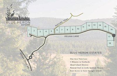 spokane Residential Lots & Land New: 5728 W Regina Ln #Lot 1