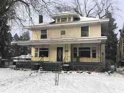 Spokane Single Family Home For Sale: 1728 W 9th Ave