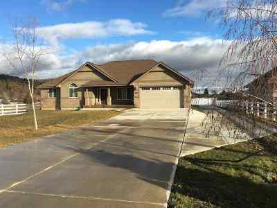 Spokane Valley Single Family Home For Sale: 5112 N Keller Rd