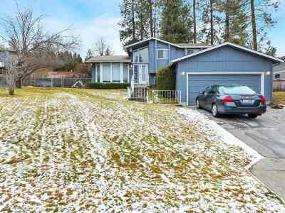 Spokane Single Family Home Bom: 5512 W Sarah Ct