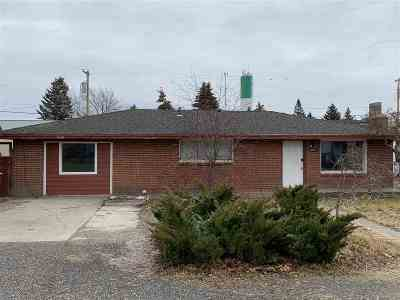 Airway Heights WA Single Family Home For Sale: $167,000