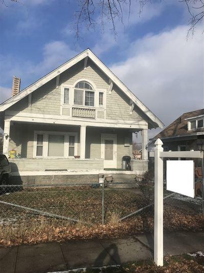 Spokane Single Family Home Ctg-Inspection: 2711 E Boone Ave