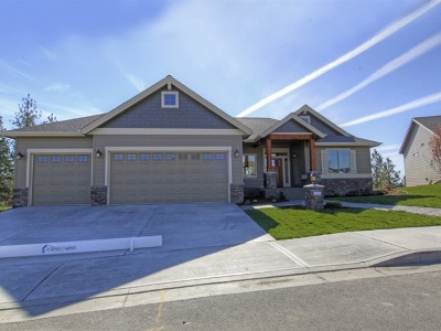 Spokane Single Family Home For Sale: 626 W Basalt Ridge Dr