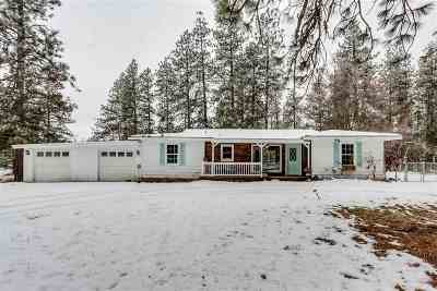 Nine Mile Falls WA Single Family Home Ctg-Inspection: $280,000