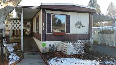 Spokane Mobile Home For Sale: 2311 W 16th Ave #102