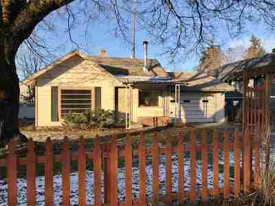 Spokane Single Family Home Ctg-Inspection: 1814 W Montgomery Ave