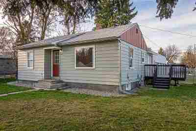 Spokane Valley Single Family Home For Sale: 6819 E 3rd Ave