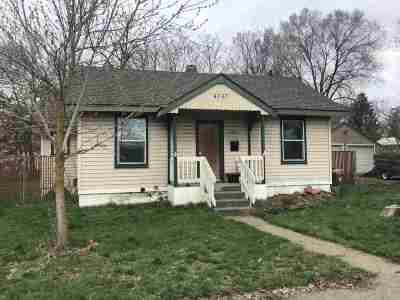 Spokane Single Family Home New: 4707 N Martin St