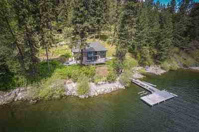 Coeur D Alene Single Family Home For Sale: 6015 S Porcupine Trl