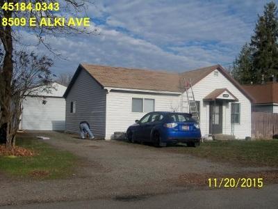 Spokane Single Family Home Ctg-Other: 8509 E Alki Ave