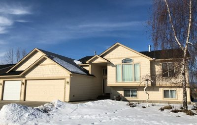 Spokane Valley WA Single Family Home Ctg-Inspection: $290,000