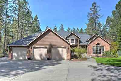 Colbert Single Family Home For Sale: 17719 N Saddle Hill Rd