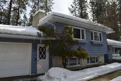Coeur D Alene Single Family Home For Sale: 3705 N Woods Ln