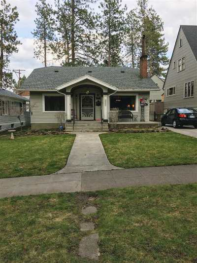 Spokane Single Family Home Active/No Show: 2417 S Manito Blvd