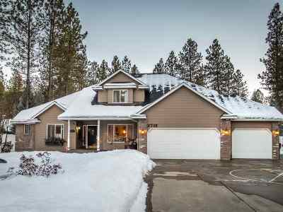 Colbert Single Family Home New: 3710 E Bridle Trail Rd