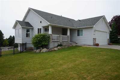 Spokane Single Family Home Bom Rlsd: 8732 E Sugar Pine Ln