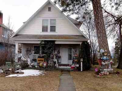 Spokane Single Family Home For Sale: 733 W Kiernan Ave
