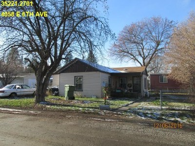 Spokane Single Family Home Ctg-Short Sale: 4058 E 6th Ave